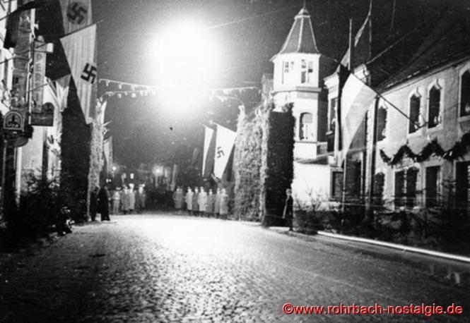 Tag der Saarabstimmung am 13. Januar 1935 an der Rohrbacher Drehscheibe