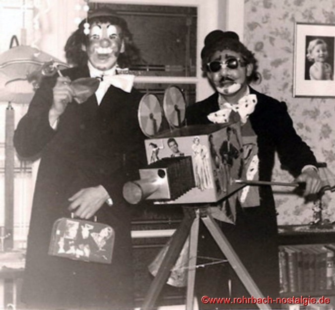1956 Die Hollywoodreporter Martin Zimmermann und Helmut Schwarz