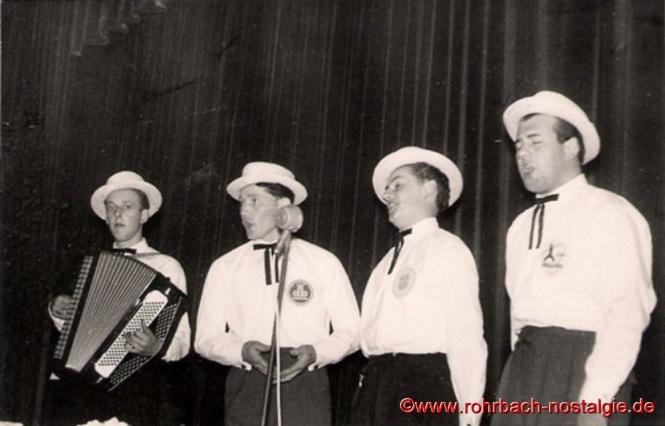 1958 am 1.Mai in der TG Halle in Rohrbach