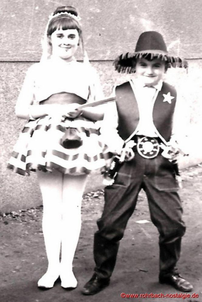 1960 Die Kinder Marietta Schwarz und Adolf Jung