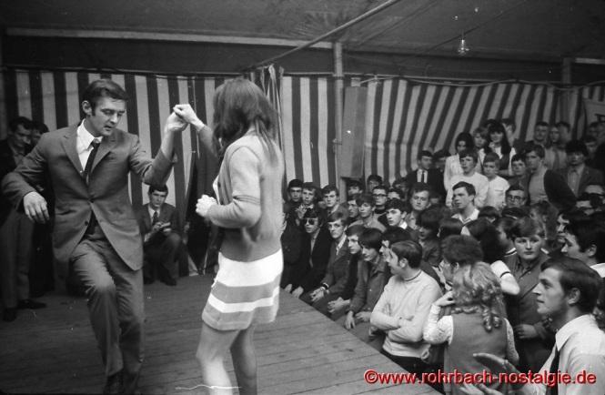 1968 Rock'n Roll Wettbewerb beim Beatfestival in Rohrbach