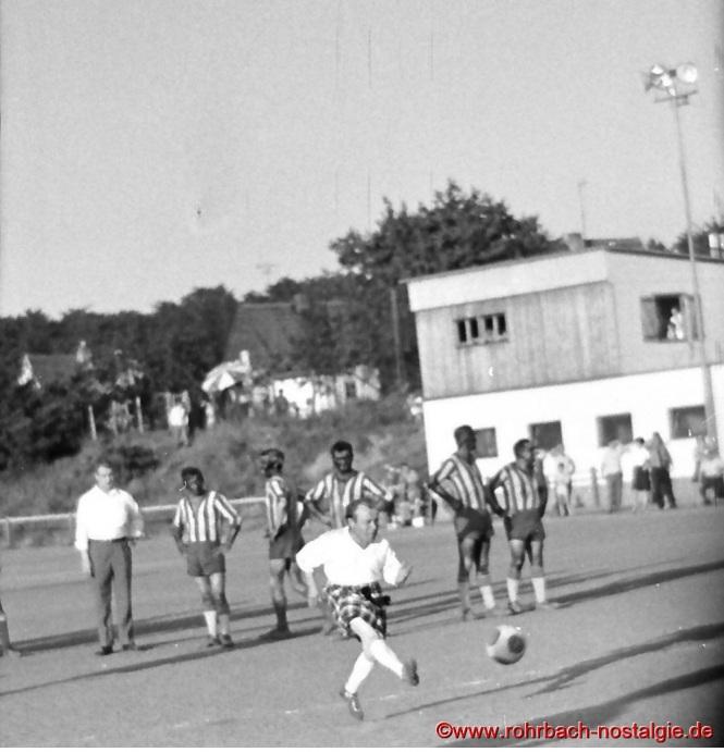 McHopemann (Paul Hoffmann) beim Elfmeterschießen