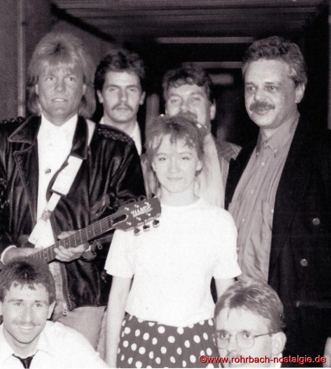 Bei einer Veranstaltung in der Saarlandhalle in Saarbrücken mit Dieter Bohlen