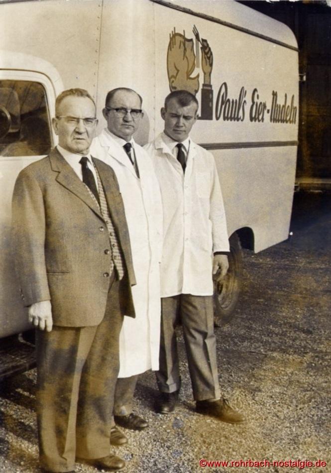 Auf dem Foto von links: Firmengründer Andreas Paul, Sohn Andreas und dessen Sohn Georg