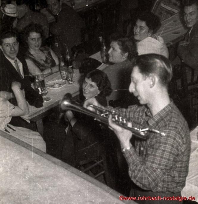 """Ludi Schöfer von der Tanzkapelle """"Sonny Boys"""