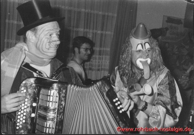 In den 70er Jahren Schlorum in der Wirtschaft zum Aules: Alfons Charrois, Berthold Abel und Kurt Hussong (Aules)