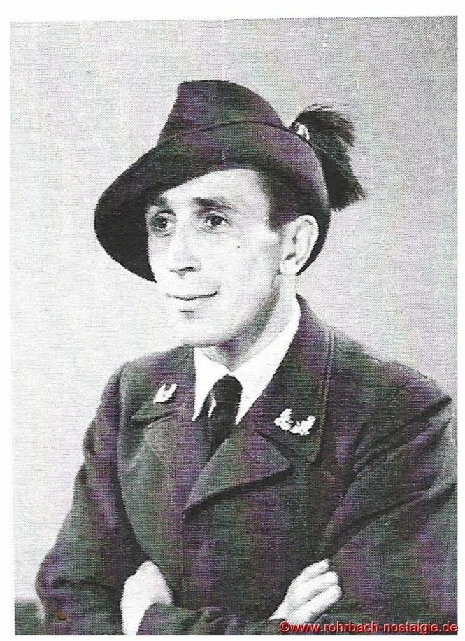 Walter Riedschy als Förster