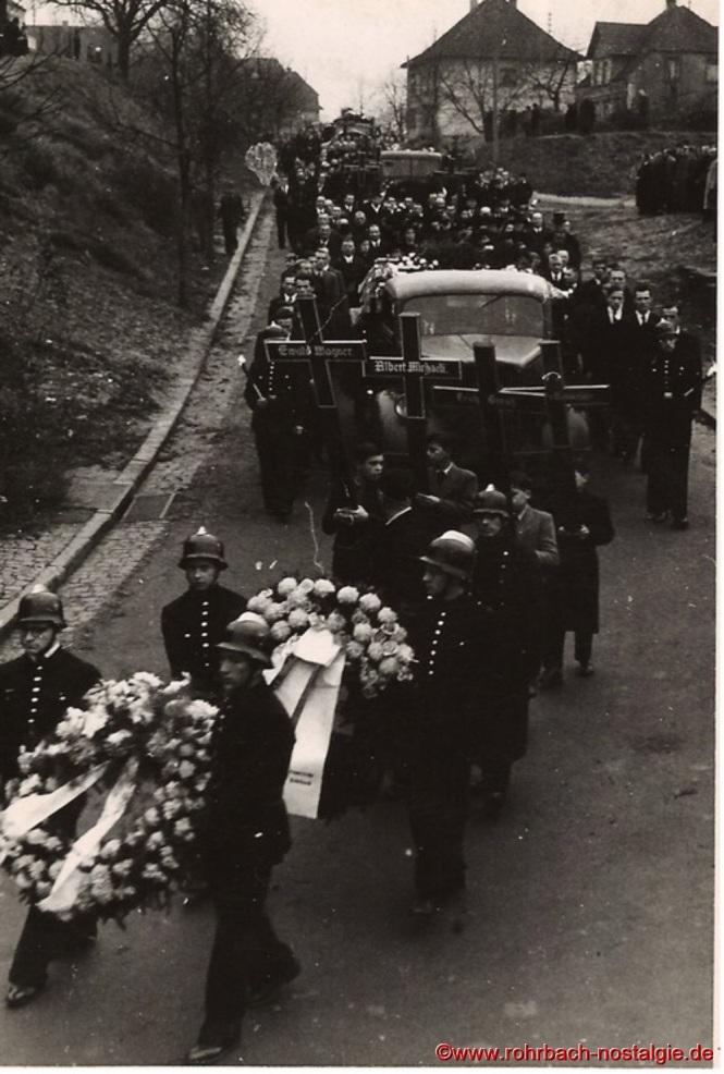 1948 Beerdigung der ertrunkenen Fußballer-12a