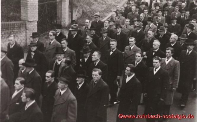 1948 Beerdigung der ertrunkenen Fußballer-13a