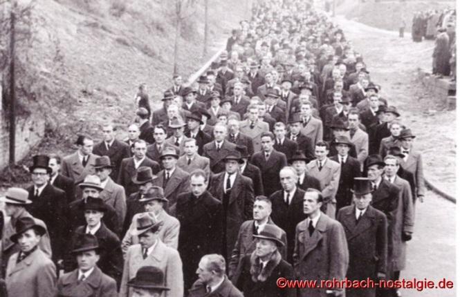 1948 Beerdigung der ertrunkenen Fußballer-22a
