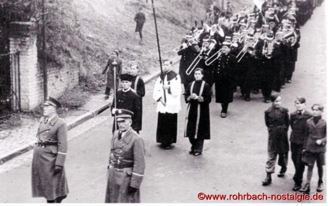 1948 Beerdigung der ertrunkenen Fußballer-24a