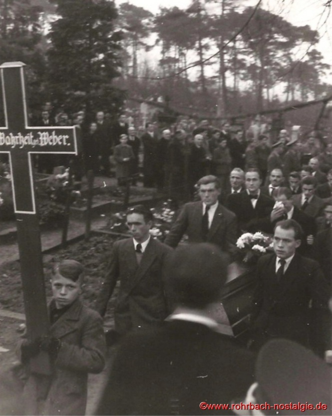 1948 Beerdigung der ertrunkenen Fußballer-27a