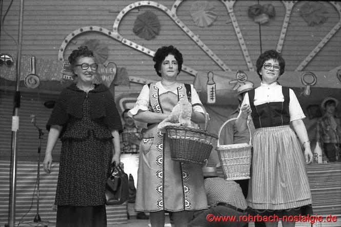 Die Magdfrauen Johanna Weirich, Maria Abel und Elisabeth Manderscheid