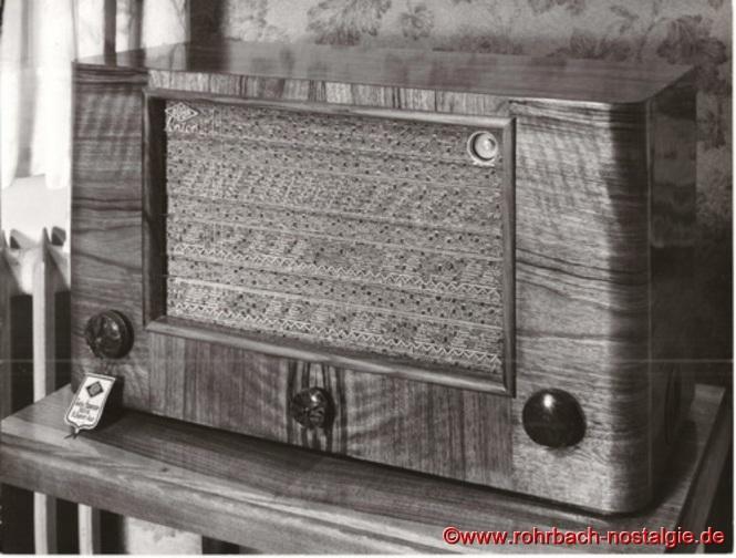 """1950 erscheint das Modell """" Senior """" auf dem Markt"""