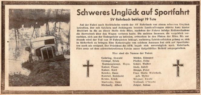Saarbrücker Zeitung vom 15. November 1948