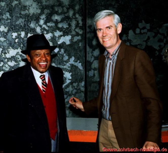 1993 Der weltbekannte Jazzmusiker Lionel Hampton bei einem Konzert in Saarbrücken mit Walter Gehring