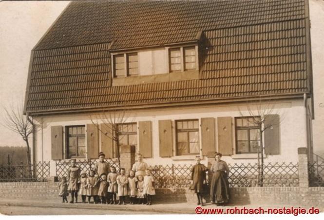 1913 Schulkinder Evangelischen Volksschule in der Mühlstraße