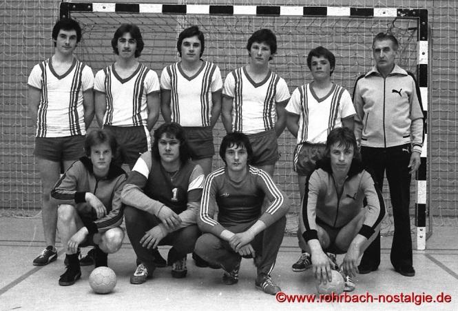 1977 Die B-Jugendmannschaft der Sportfreunde Rotweiß wird Meister