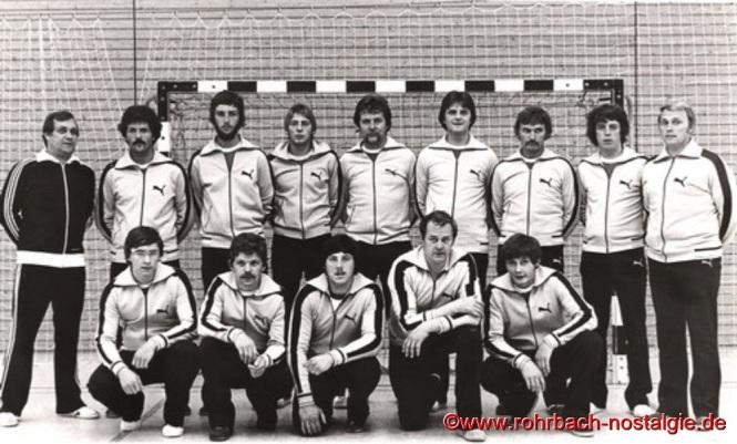 1978 Die 1. Mannschaft der SF Rot-Weiß Rohrbach