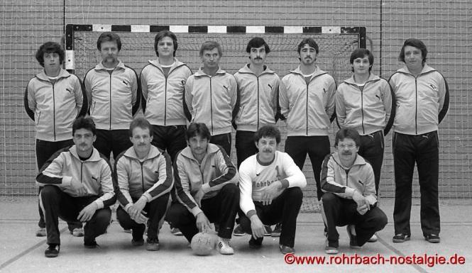 1980 Die 1. Mannschaft der SF Rotweiß