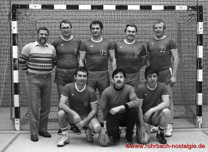 1983 Die AH-Mannschaft der SF Rotweiß