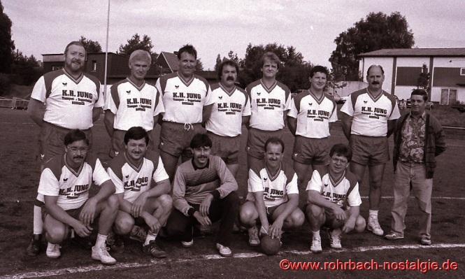 1992 Die AH-Mannschaft der SF Rotweiß
