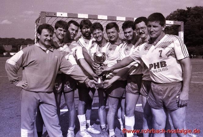 1994 Die 1. Mannschaft des SF Rotweiß als Sieger beim eigenen Kleinfeldturnier
