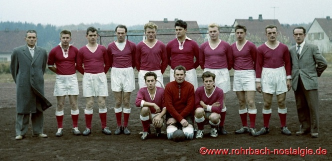 Noch ein Foto der 1. Mannschaft der SF Rotweiß aus dem Gründungsjahr: