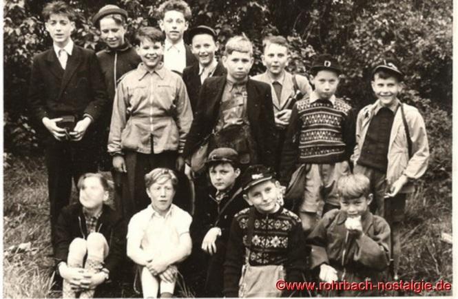 Um 1954 Ausflug an die Saarschleife