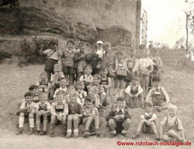 1955 Wanderung an die Kirkeler Burg