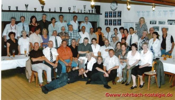 2008 Klassentreffen im Sportheim des SV Rohrbach in den Königswiesen