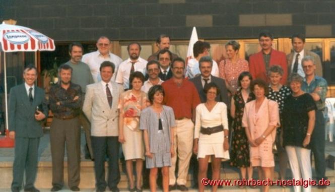 1993 Klassentreffen im Sportheim des SV Rohrbach in den Königswiesen