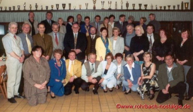 1998 Klassentreffen im Sportheim des SV Rohrbach in den Königswiesen
