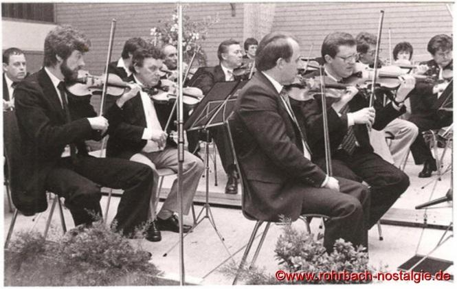 1983 Die Streichergruppe des Pfarrorchesters