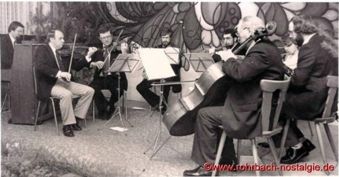 Großen Zuspruch finden jedes Jahr die Hausmusikabende des Pfarrorchers im Jugendheim Bis zum heutigen Tag ist das Pfarrorchester eine feste Institution im Kulturleben Rohrbachs. Im