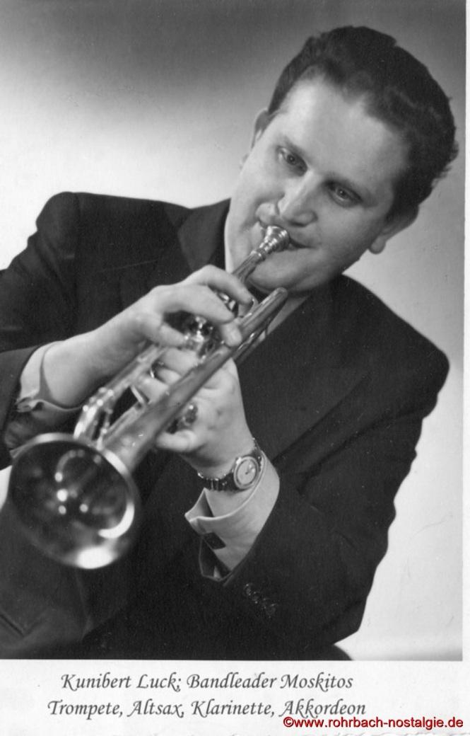 """Kunibert Luck war Mitbegründer des weit über die Grenzen von Rohrbach hinaus bekannten Tanzorchesters """"Moskitos"""""""