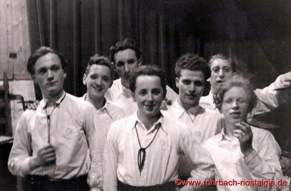 Um 1950 Die Sonny Boys.2ka