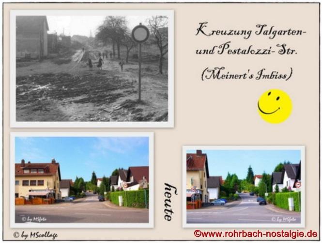 Kreuzung Im Talgarten - Obere Kaiserstraße - Pestalozzistraße (Meinert's Imbiss)
