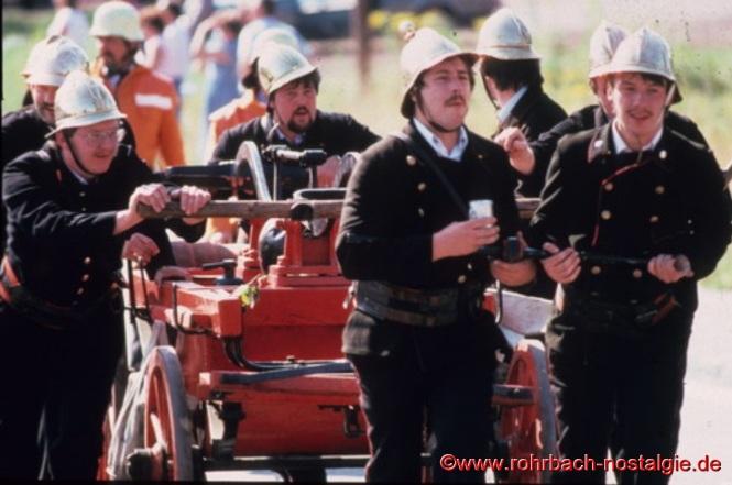 Entwicklung der Feuerwehr (gestaltet von der Freiwilligen Feuerwehr Rohrbach)
