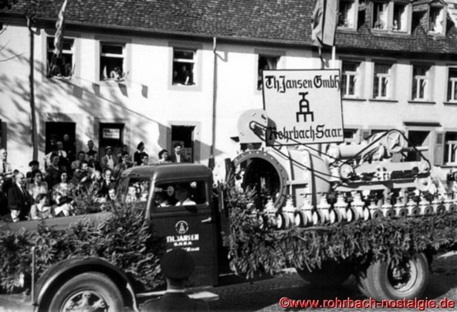 Der Wagen der Firma Theodor Jansen