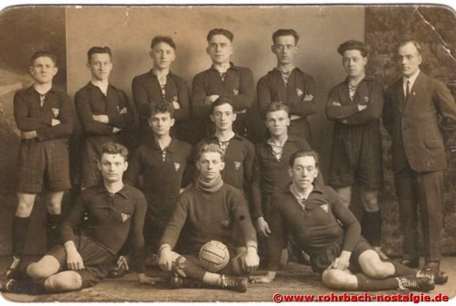 Die Meistermannschaft 1927-28 in der A-Klasse
