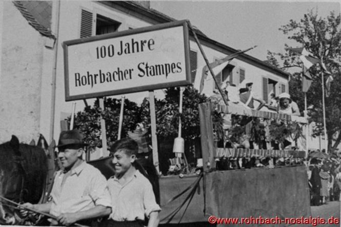 100 Jahre Rohrbacher Stampes mit Andreas Würtz und seinem Sohn Günter
