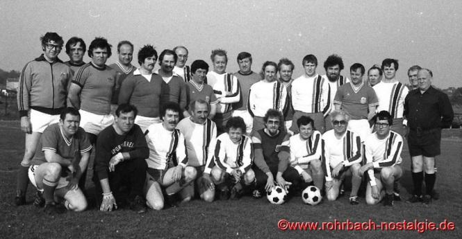 1980 Traditionelles Spiel in der Hexennacht AH-Mannschaft gegen Vorstand