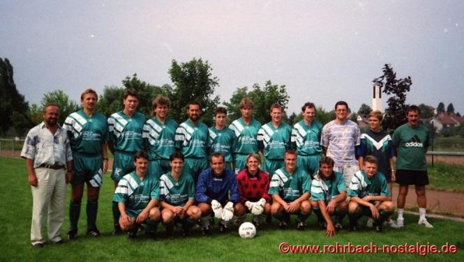 Die 1. Mannschaft in der Saison 1995-96