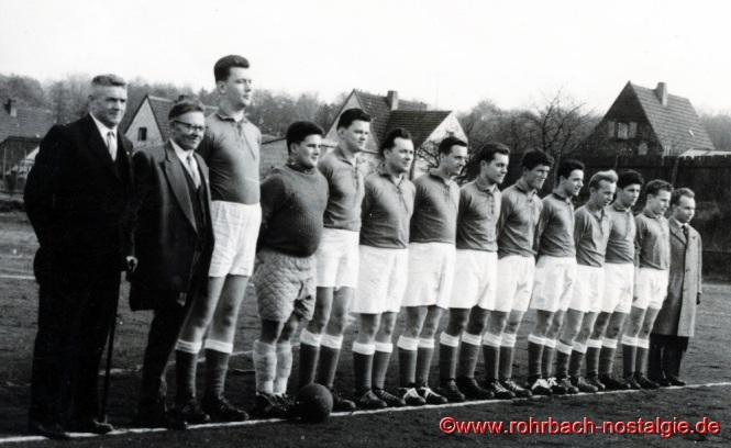 Um 1959 Die Zweite Mannschaft: