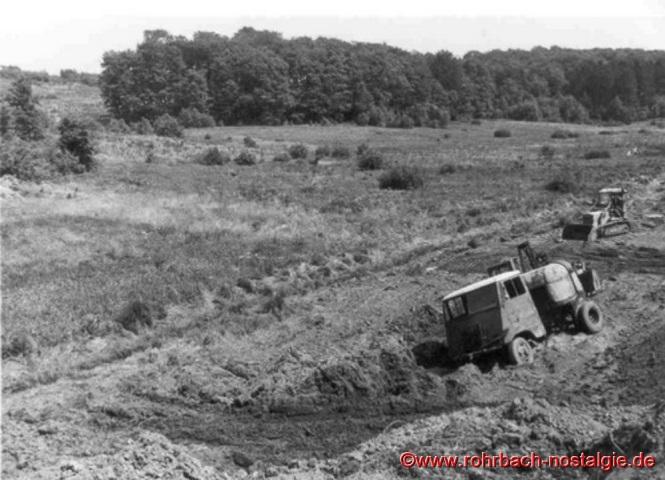 Im Juli 1968 beginnen die Bauarbeiten