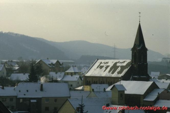 Blick von der Fink auf die Pfarrkirche St.Johannes