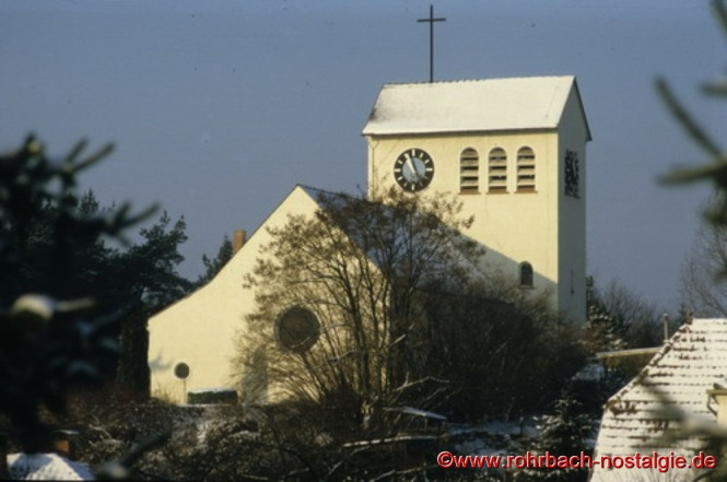 Blick auf die Christuskirche