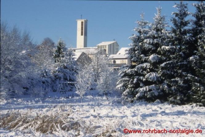 Blick vom Stegbruch auf die Konradskirche