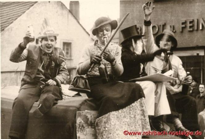 Ausgelassene Stimmung bei allen Beteiligten. Links auf dem Foto: Harald Allmannsberger